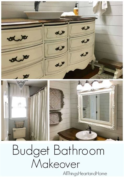 Cheap Bathroom Makeover Ideas by 17 Best Ideas About Budget Bathroom On Budget