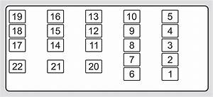 Acura Tl  2010 - 2011  - Fuse Box Diagram