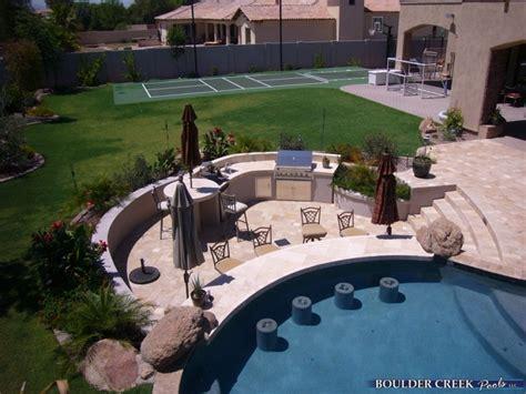 outdoor living spaces boulder creek pools  spas