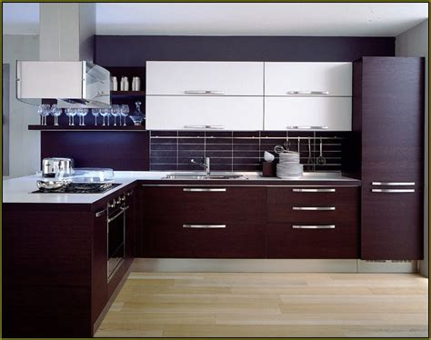 Laminate Kitchen Cabinets With Wood Trim  Home Design Ideas