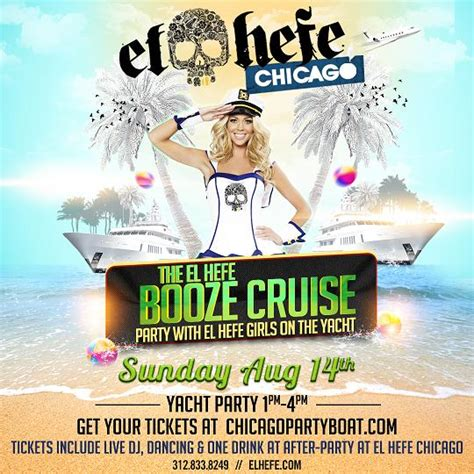 Ny Boat Show Promo Code by The El Hefe Booze Cruise On August 14th
