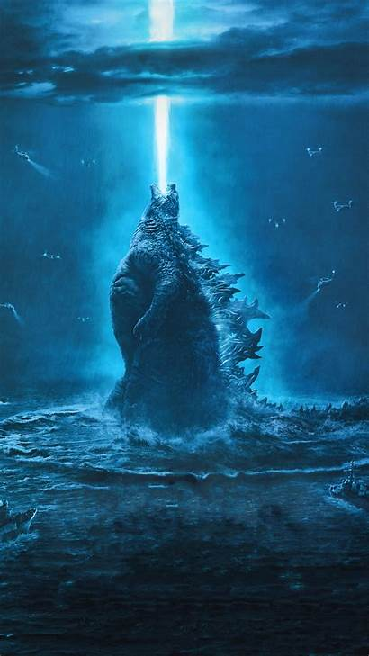 Godzilla Monsters King Poster Wallpapers Iphone 5k