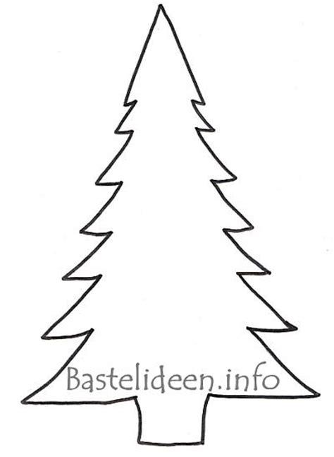 bastelideen info kostenlose vorlage quot tannenbaum quot gross