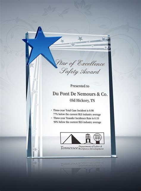 safety award plaques images  pinterest award