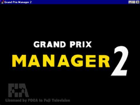 grand prix manager 2 jeu télécharger kostenlos