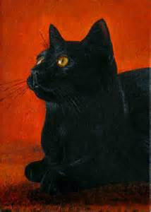 black cat painting black cat paintings get domain pictures getdomainvids