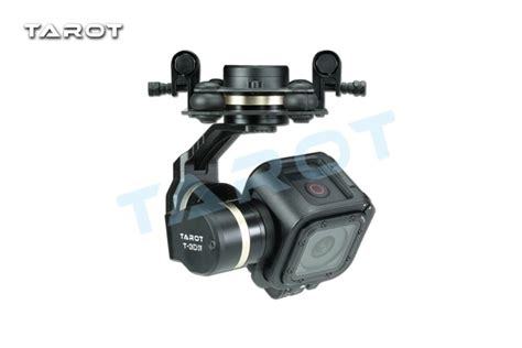 buy ormino tarot metal gimbal gopro   iv hero  session rc drone parts