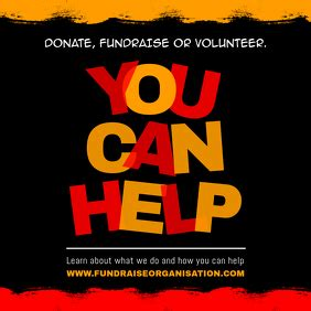 Free Online Fundraising Poster Maker | PosterMyWall