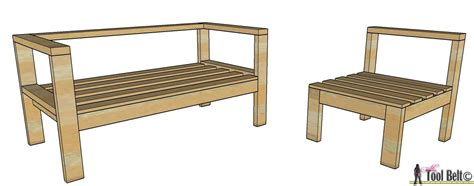 Free Wooden Outdoor Furniture Plans