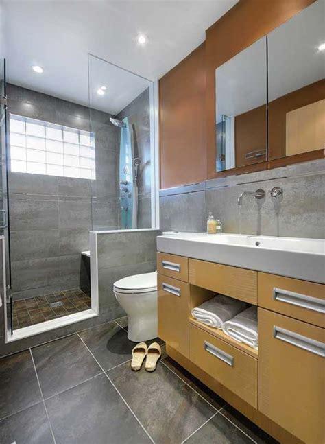 designs for small bathrooms ไอเด ยการตกแต งห องน ำส ดช คในโทนส ดำ แนวการตกแต งบ าน