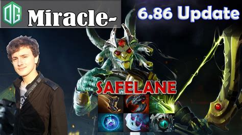 miracle medusa safelane pro gameplay dota 2 mmr youtube