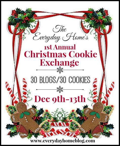 christmas cookie exchange shabby art boutique