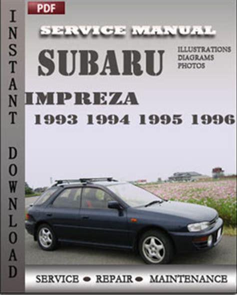 download car manuals 1995 subaru impreza auto manual subaru impreza 1993 1995 repair manual download repair service manual pdf