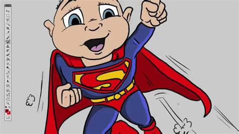 superbaby quick cartoon drawing youtube
