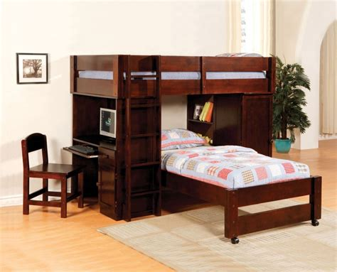 american bunk bed with desk bunk bed with desk and couch harford walnut junior twin