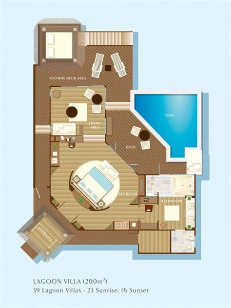image result  maldives floor plan resort plan hotel room plan hotel plan