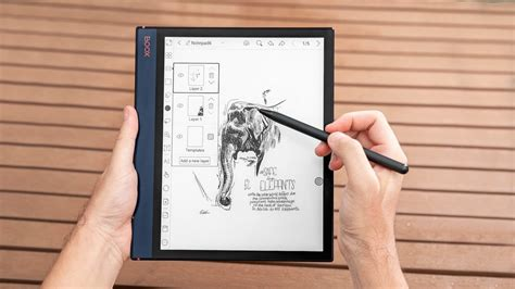 boox note air   ink tablet features  adjustable