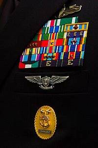 Coast Guard Medals And Awards Chart Command Senior Enlisted Leader Identification Badges