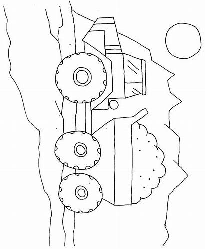 Coloring Pages Construction Printable Preschool Colouring Site