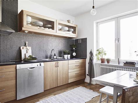 deco cuisine blanc et bois beautiful cuisine blanche mur gris clair images matkin