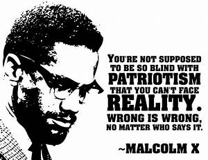 Racist Quotes From Malcolm X. QuotesGram