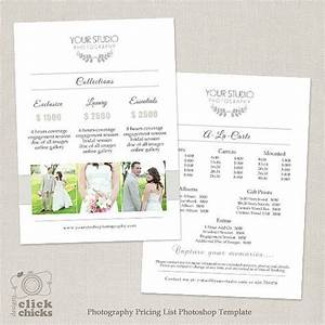 185 best marketing photoshop templates for photographers With wedding photography pricing guide template