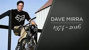 Bmx Rally Friends Remember Bmx Legend Dave Mirra