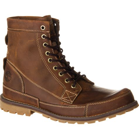 s rugged boots timberland earthkeepers rugged originals leather 6in boot