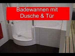 Badewanne Mit Dusche Und Tr YouTube