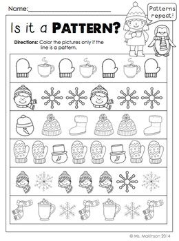 january printables kindergarten literacy and math by ms makinson