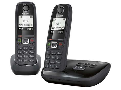 telephone fixe conforama t 233 l 233 phone fixe sans fil duo avec r 233 pondeur gigaset as405a duo noir vente de t 233 l 233 phone