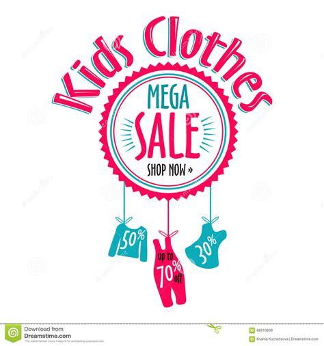 Kinder Verkaufen by Sale Label For Clothing Stores Mega Sale Badge