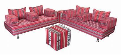 Sadu Arabic Daybed Areeka Furniture Majlis Traditional