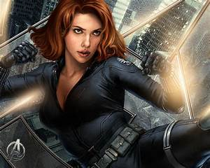Images Of Black Widow The Avengers Wallpaper