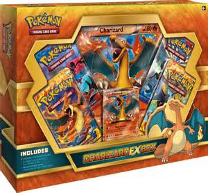 pokemon cards charizard ex box
