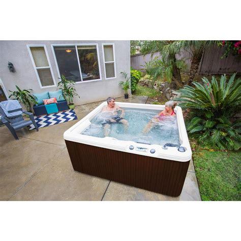 lifesmart 4 person rectangular tub lifesmart ls350 plus 5 person 28 jet spa 401410510600 18