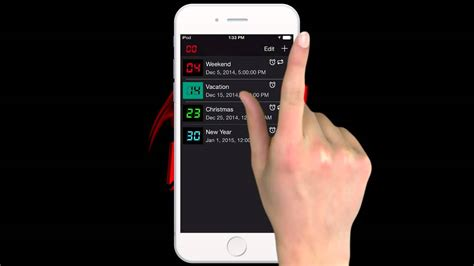 countdown app iphone final countdown app for ios and android youtube Count