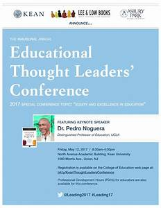 Meet LEE & LOW BOOKS at the Educational Thought Leaders ...