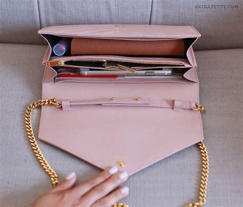 bag review ysl saint laurent wallet  chain purse