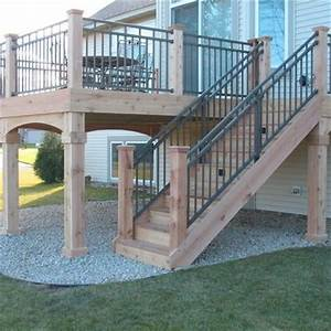 1000 ideas about deck railing design on pinterest With 4 creative porch railing ideas for your house