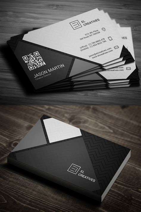 modern business card psd templates design graphic
