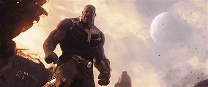 Thanos Moon Mcu Infinity Avengers Throw Endgame