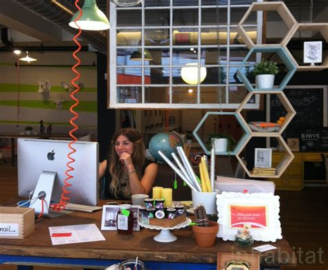 Bhive Coworking Space Features Upcycled Barn Wood