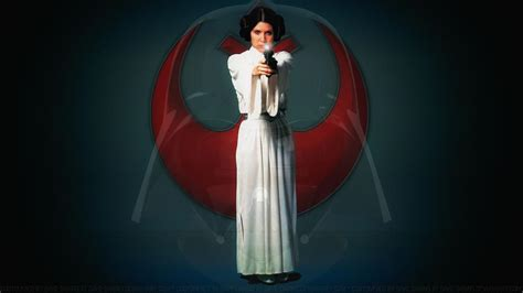 Carrie Fisher Princess Leia Xl By Dave Daring On Deviantart