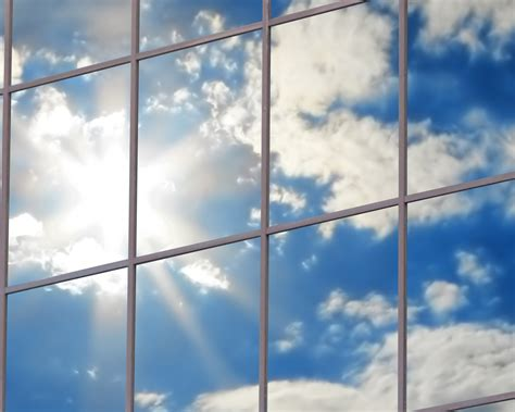 single pane  glass offers  real transparency cloud pro