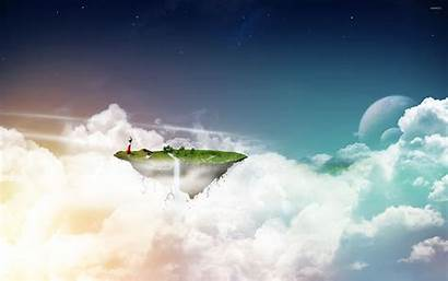 Floating Island Fantasy Wallpapers Fanpop Islands Sky