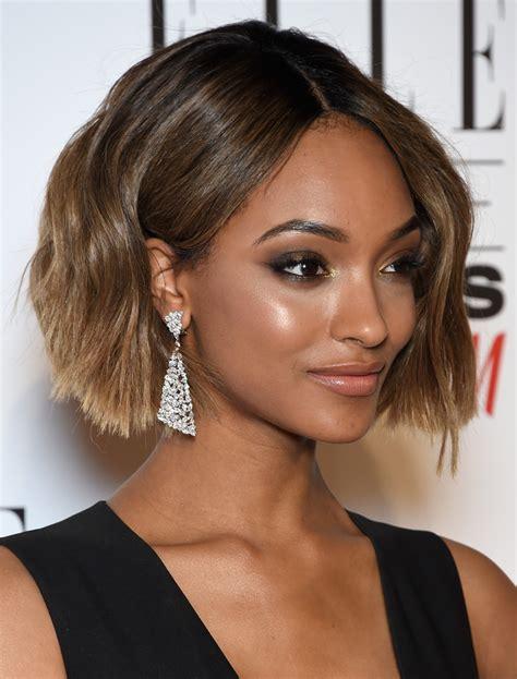 jourdan dunn short wavy cut short hairstyles lookbook