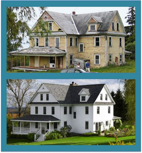 home design before and after home exterior homespree