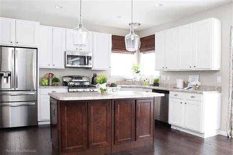 update white kitchen cabinets kitchen updates and bar stool ideas how to nest for less 6677