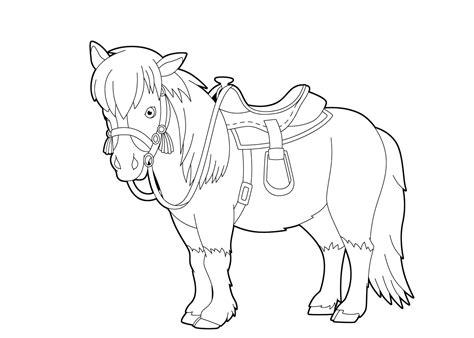 Kleurplaat Paard Tinker by De 40 Allerleukste Paarden Kleurplaten Voor Kinderen